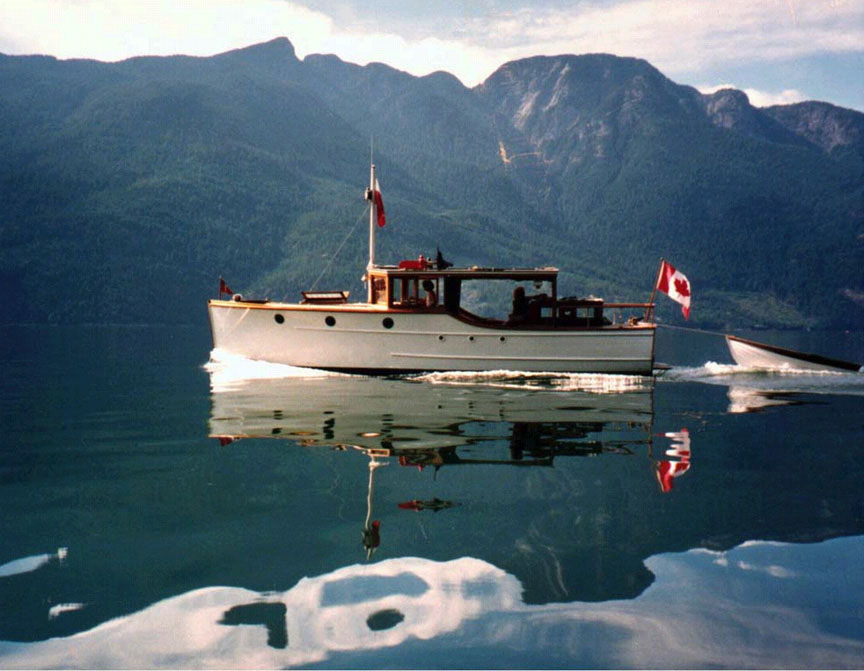 Haida Princess in Jervis Inlet