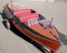"19' 1939 Chris craft - sister to ""Paula"""