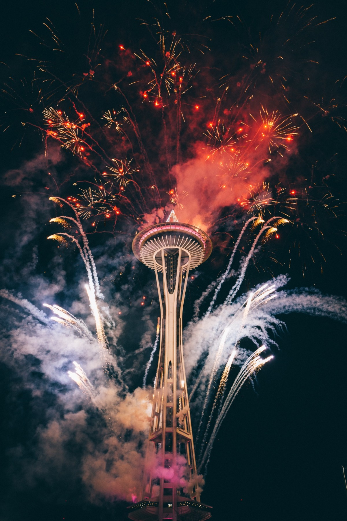 New Years Space Needle