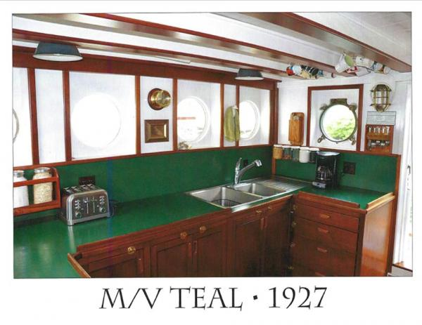Teal galley