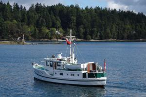 Townley Isle in Ganges Harbour, BC