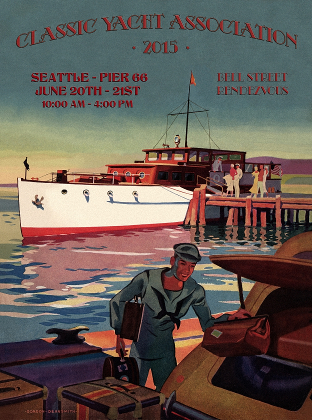2014 Bell Harbor Rendezvous Poster
